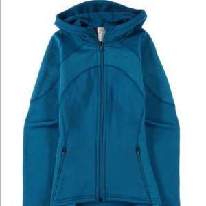 PATAGONIA WOMENS STRETCH VELOCITY HOODY - LARGE